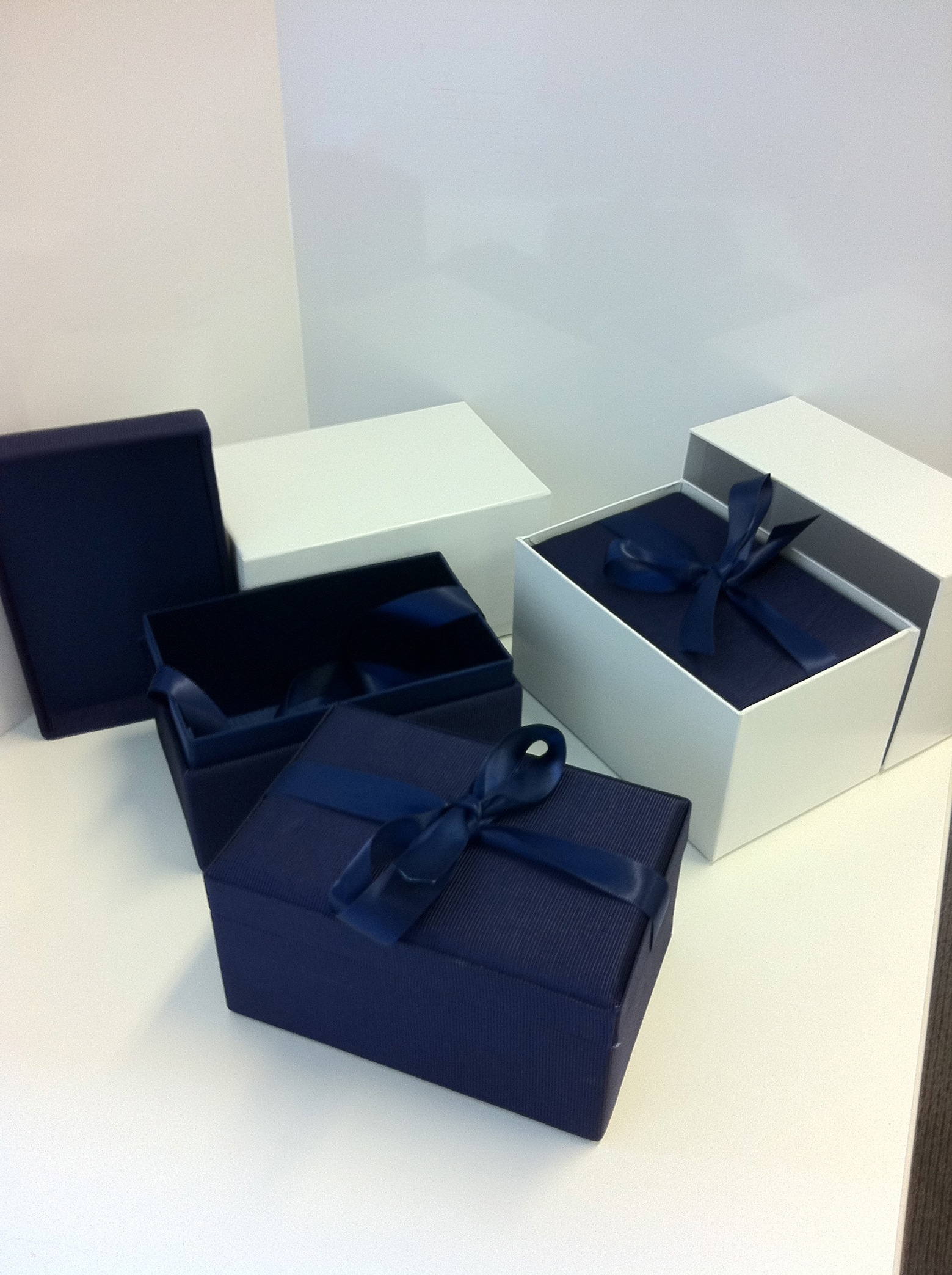 Blue Ribbon Gift Box