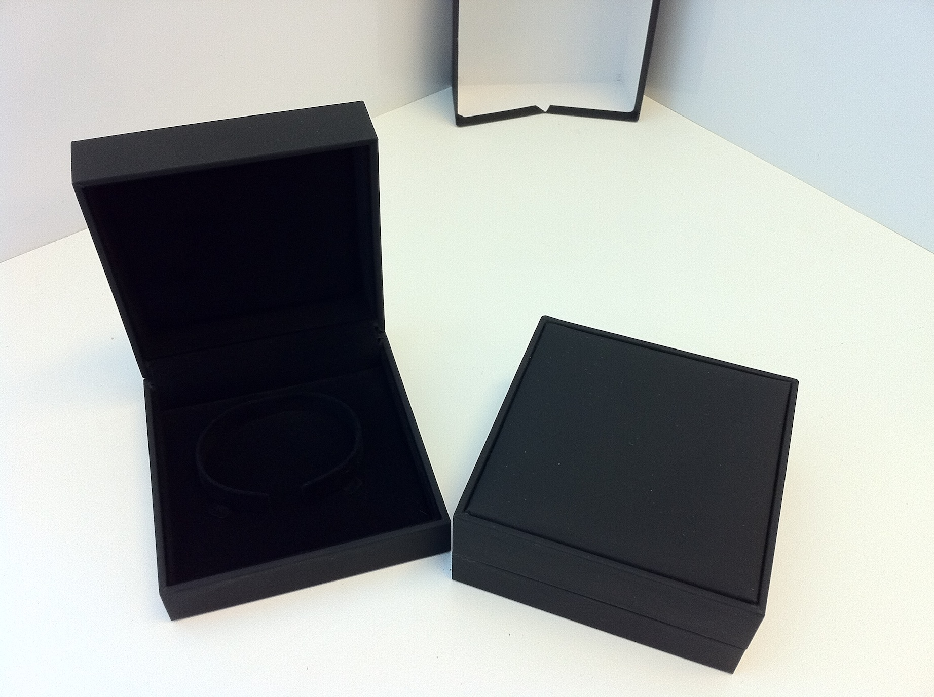 Black Suede Bangle Box (BG1)