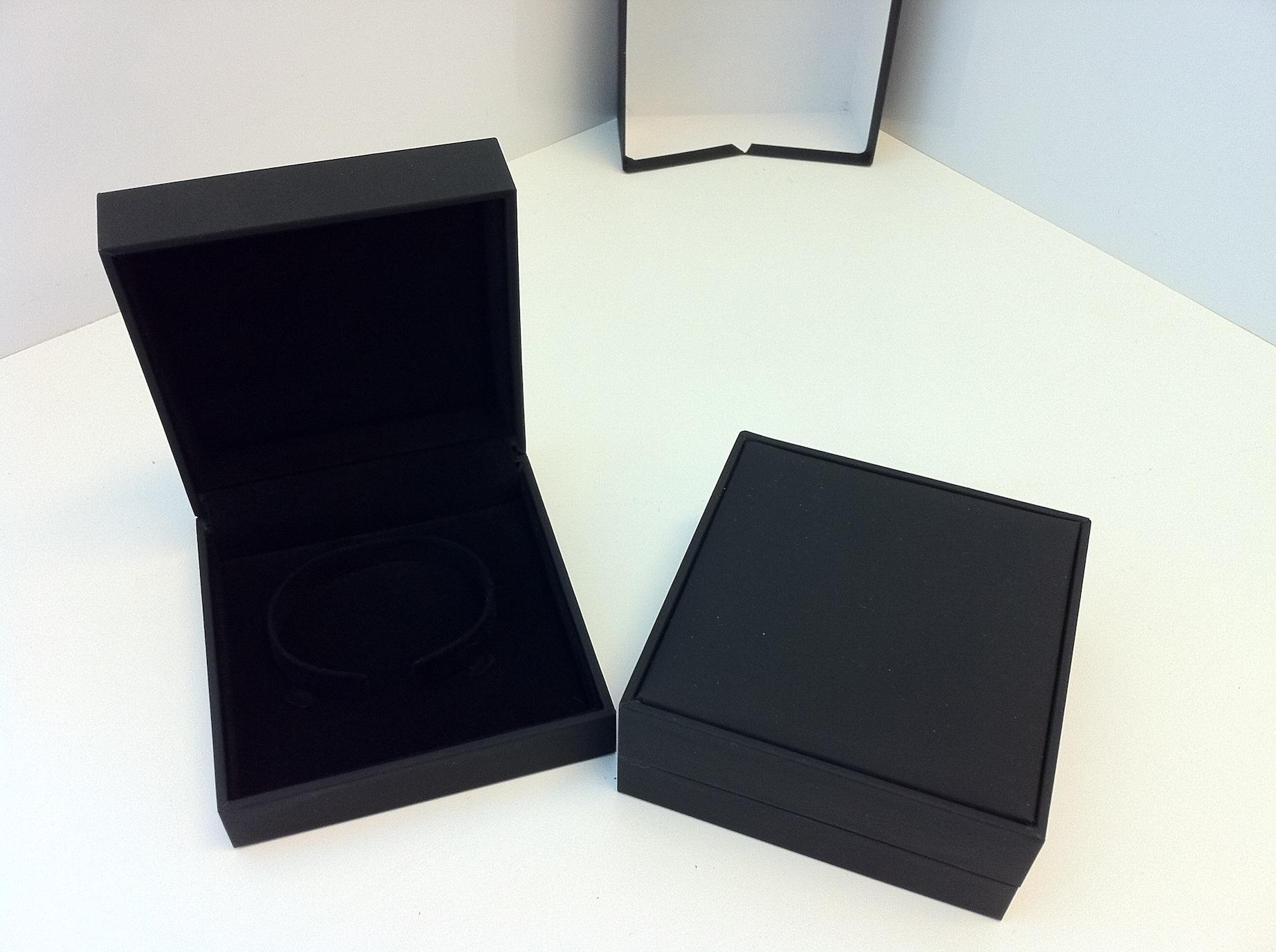 Black Suede Bangle Box (BG1)