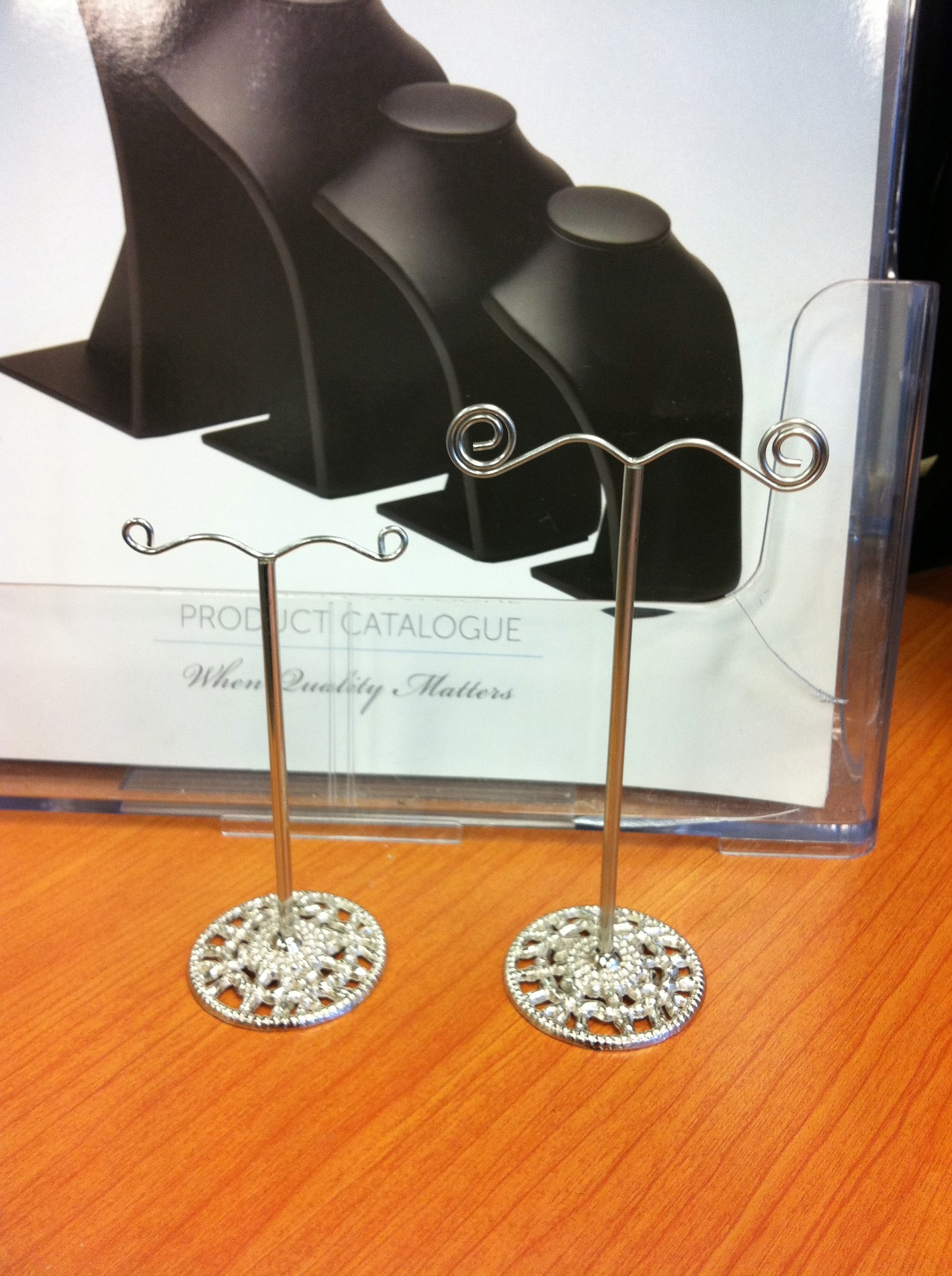 Metal Earring Stand (small)