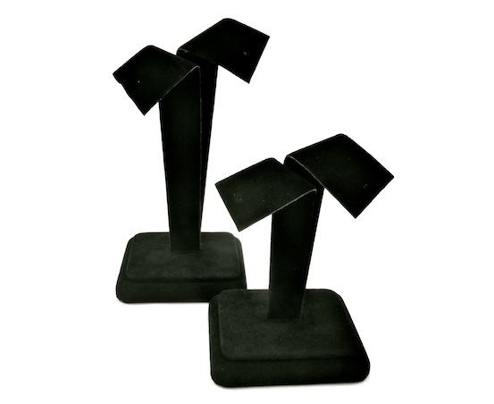 Bow Earring Stand Black