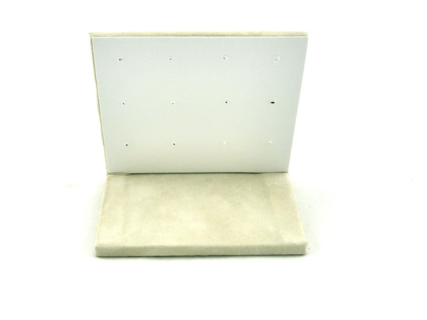 Camel Suede Multiple (6) Square Earring Stand