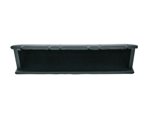 Black Leatherette Multiple Pendant Stand