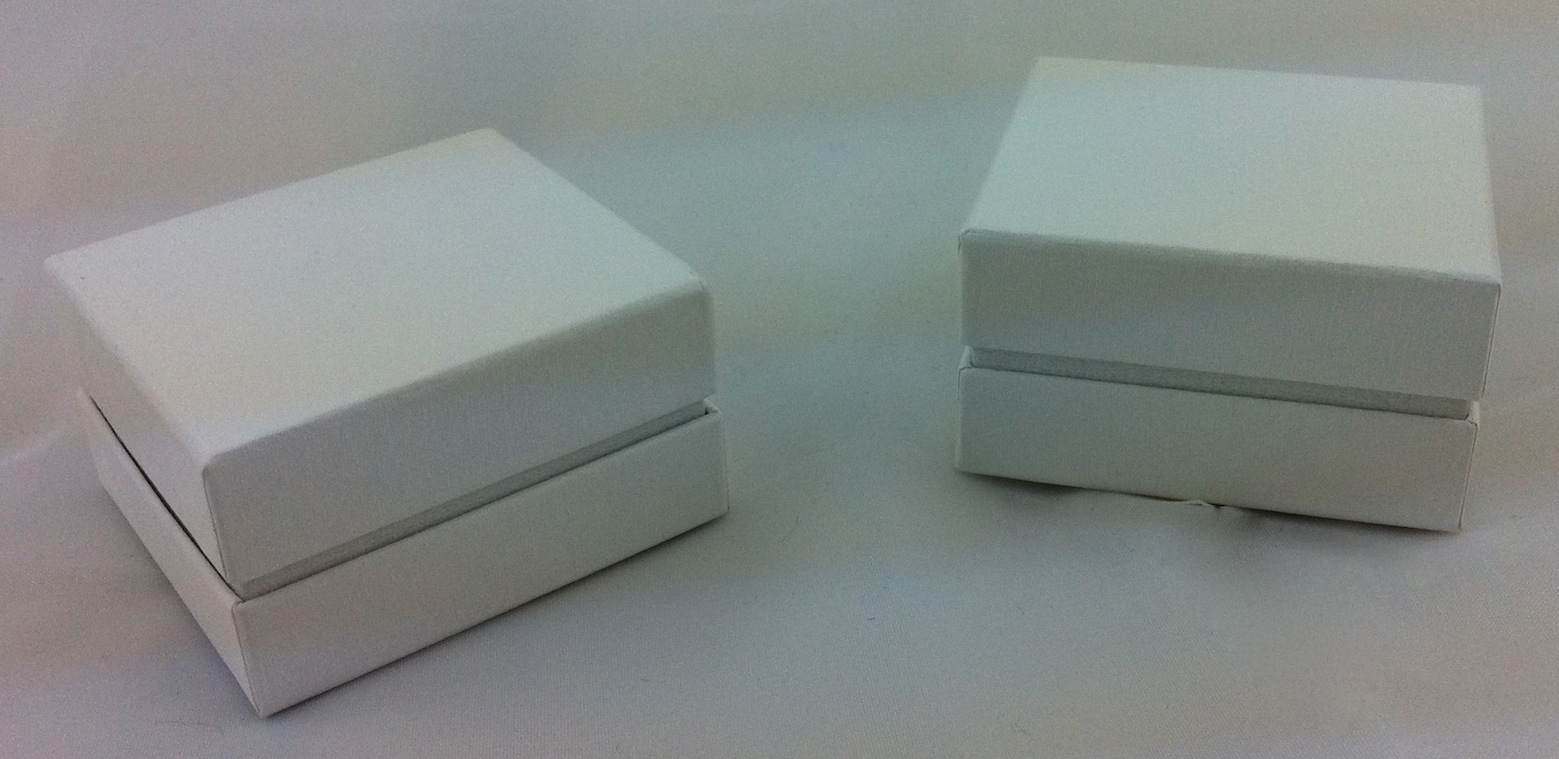 All White Ring Box