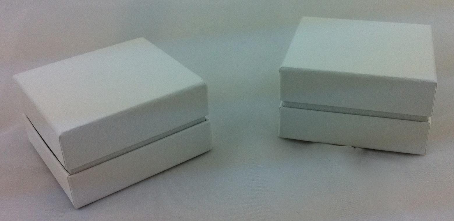Little All White Ring Box