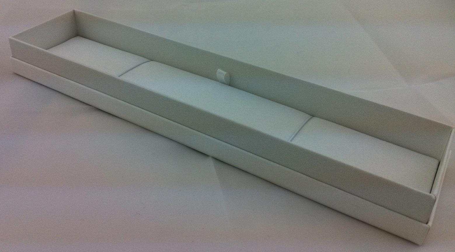 Little All White Bracelet/Necklace Box
