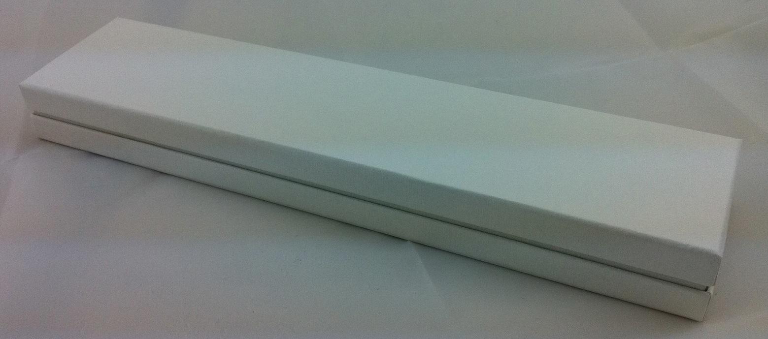 All white bracelet box