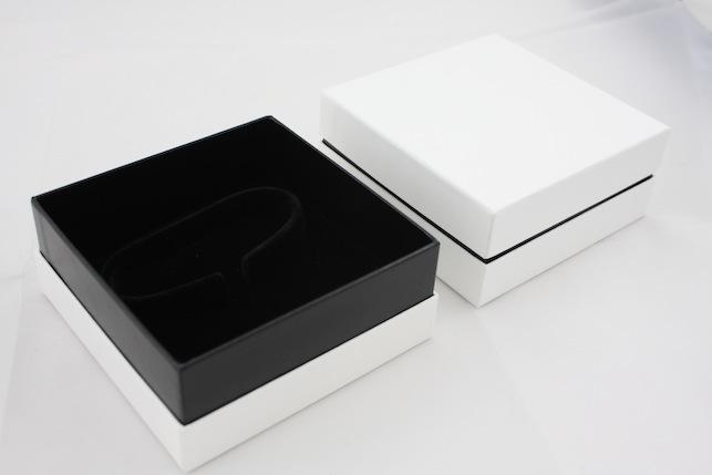 Cardboard Bangle Box - Black & White
