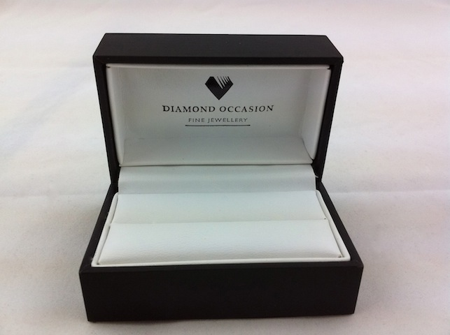 Logo Printed Double Ring Box