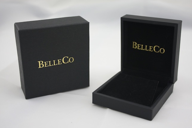 Printed Black Pendant Box