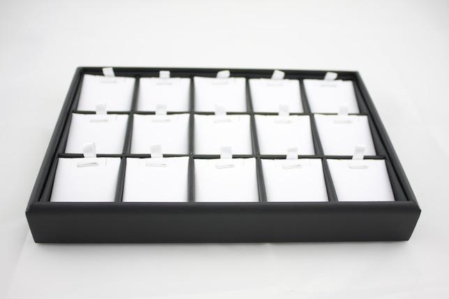 B&W jewellery tray