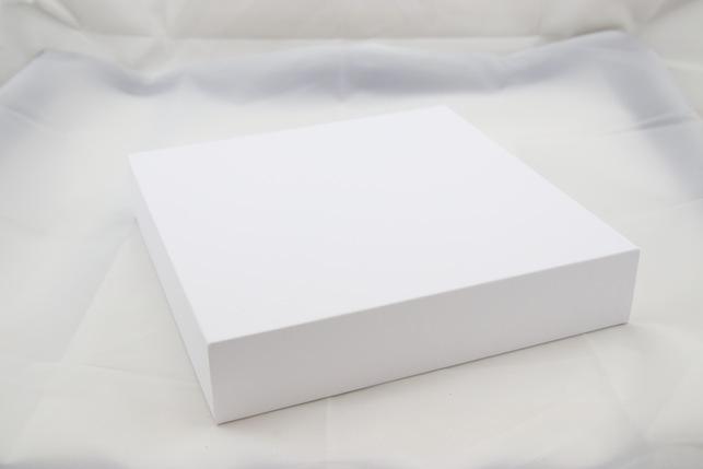 White Leatherette Tall Platform