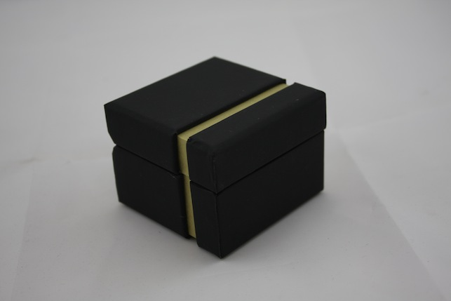 Black Chic Ring Box