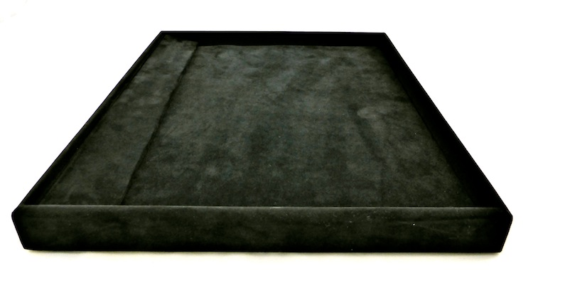 Suede Jewellery Display Tray
