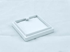 Slim White Envy Etsy Pendant Box