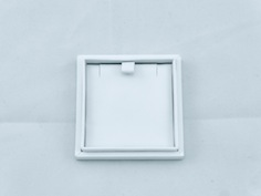White Envy Slim Pendant Box for posting