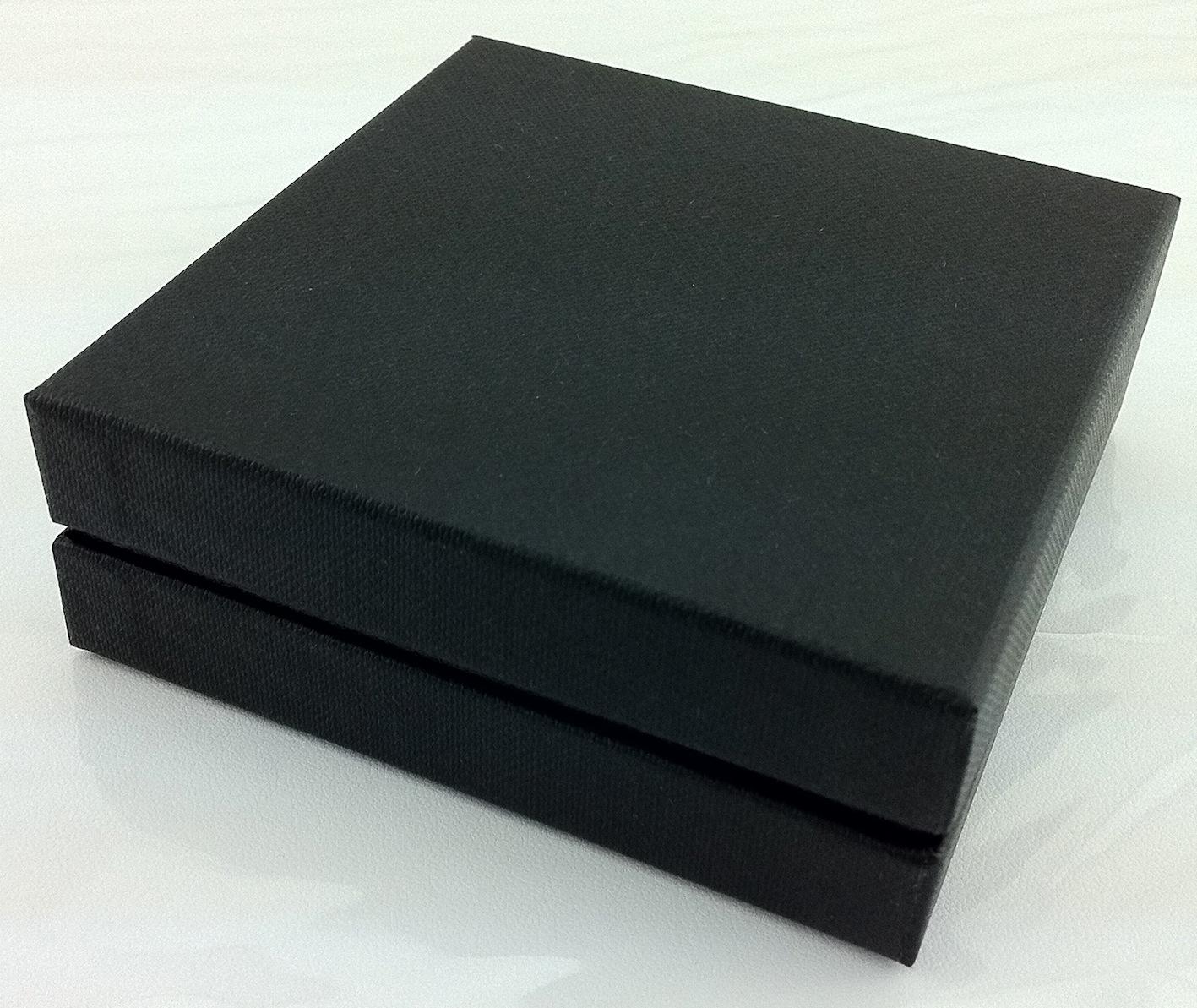 Little All Black Pendant/Earring Box