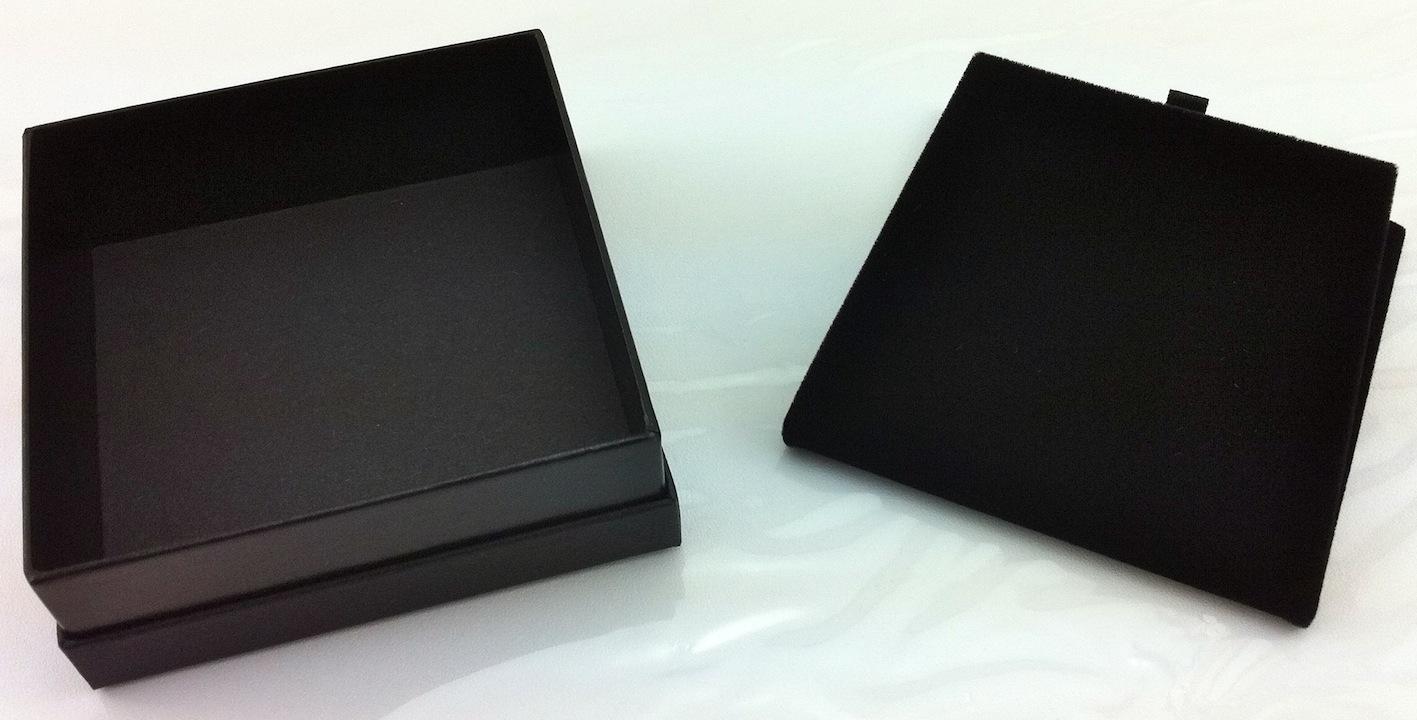All Black Pendant Box