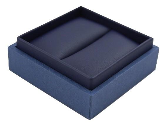 Blue Envy Ring Box - open