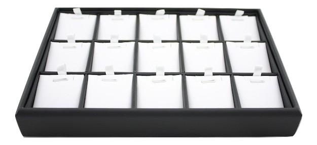 Black & White Pendant Tray (Medium)