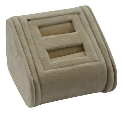 Camel Suede Multiple Ring Stand 2