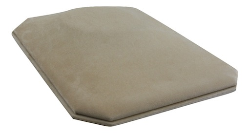 In-counter bust flat (camel suede)