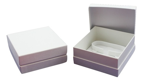 White bangle box