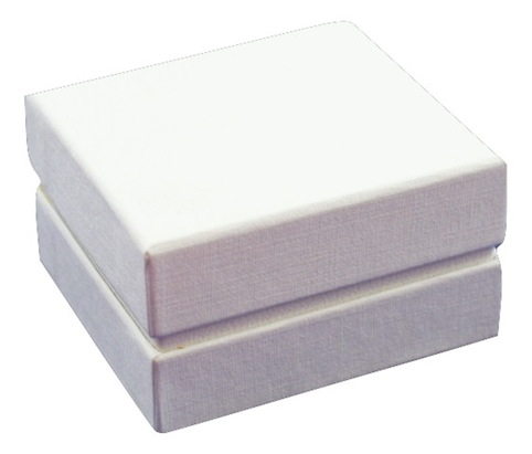 All White Earring Box