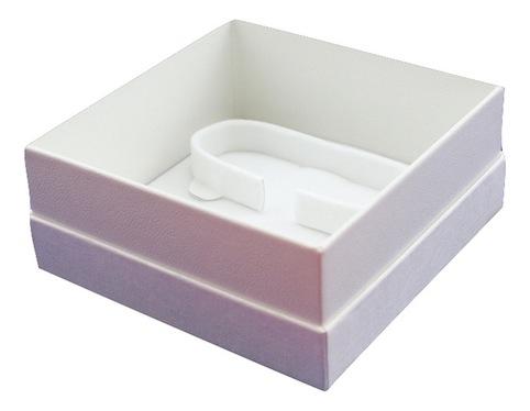 All white bangle box