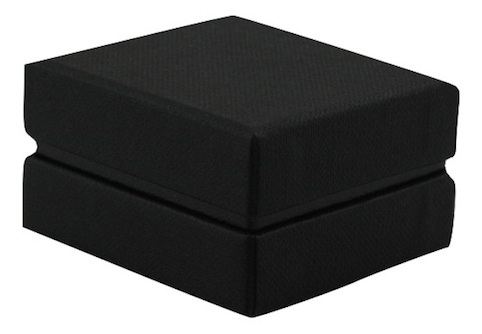 All Black Earring Box