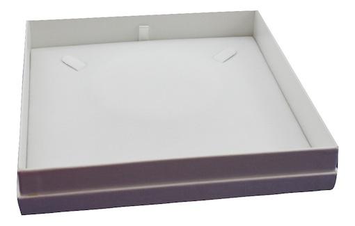 All white necklace box