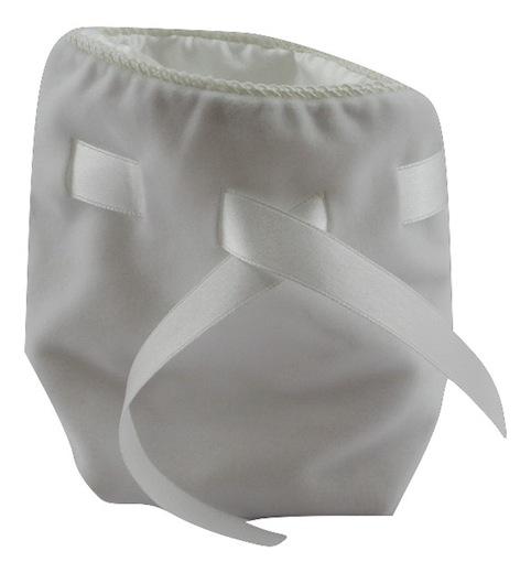 White Velvet Pouch