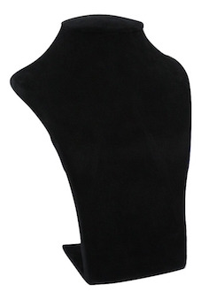black suede bust extra small