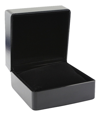 Black Leatherette watch Box