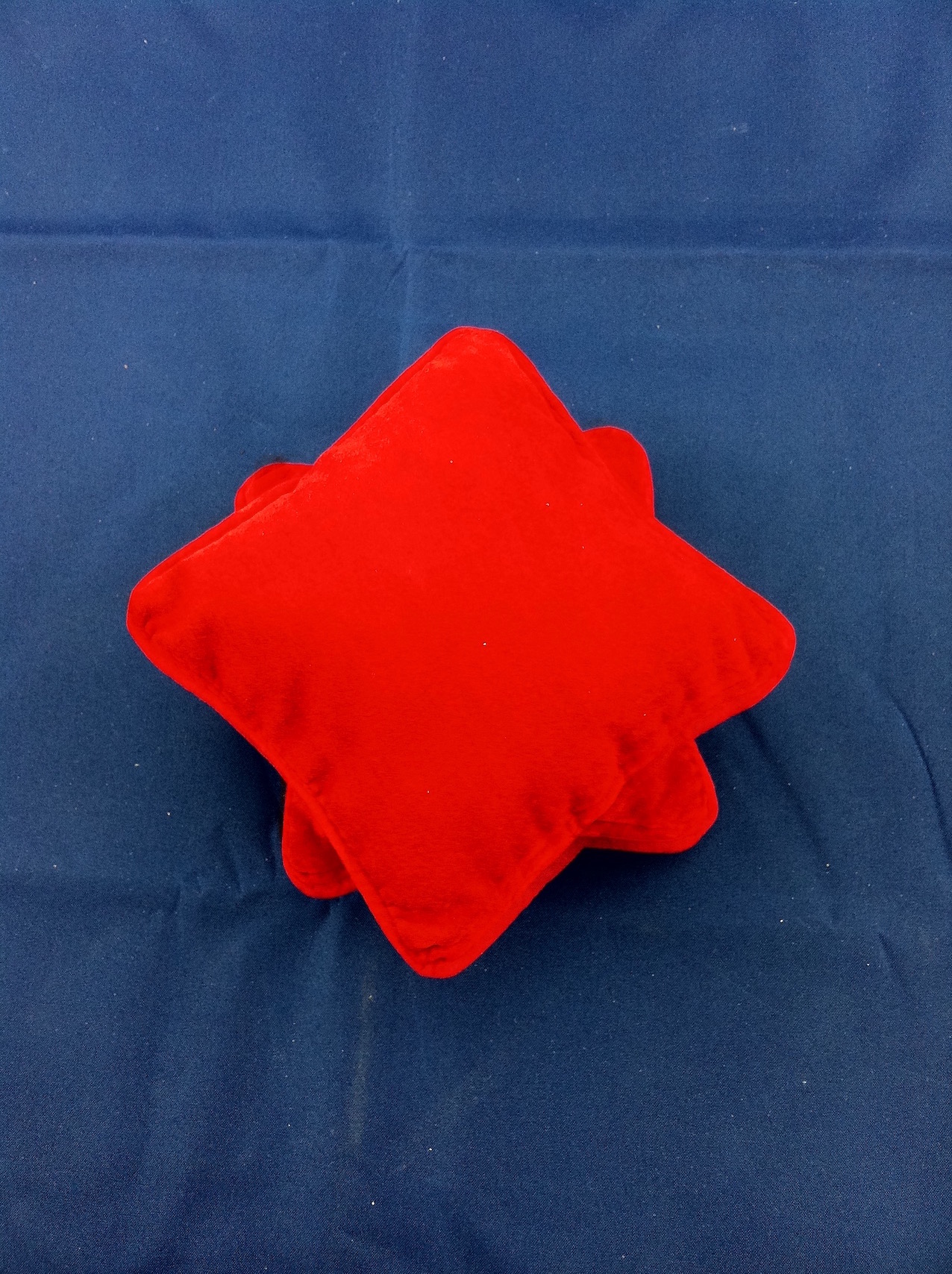 Red Velvet Jewellery Pillow