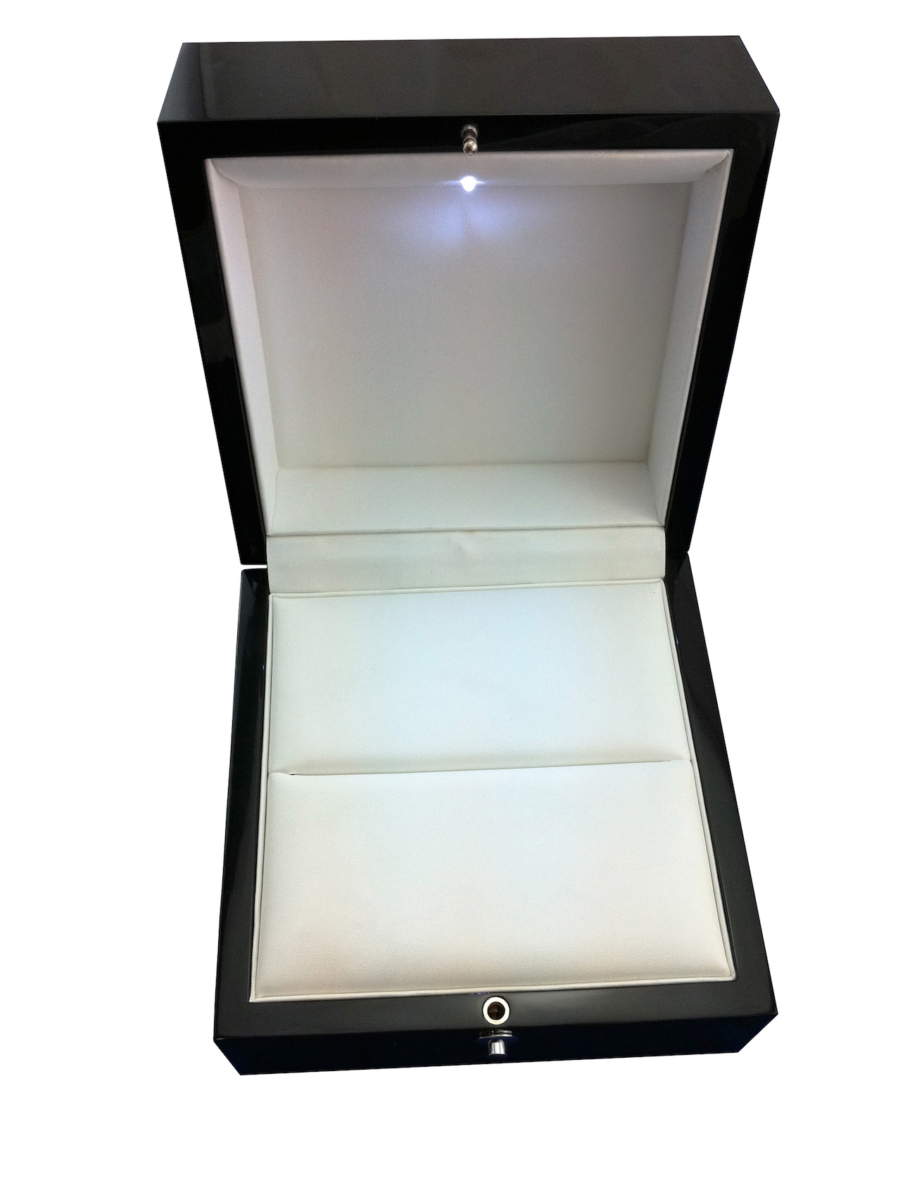 Platinum Ring Box Front View