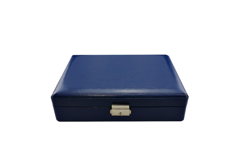 8 Watch Collector Case (Blue)