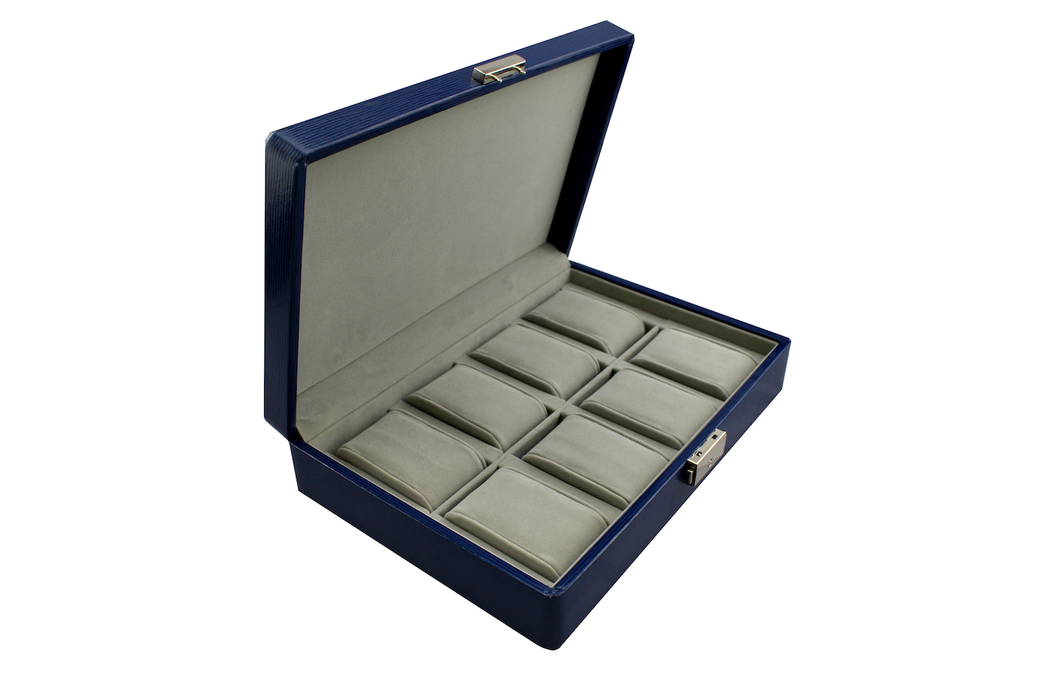 Blue Watch Box for 8 watches
