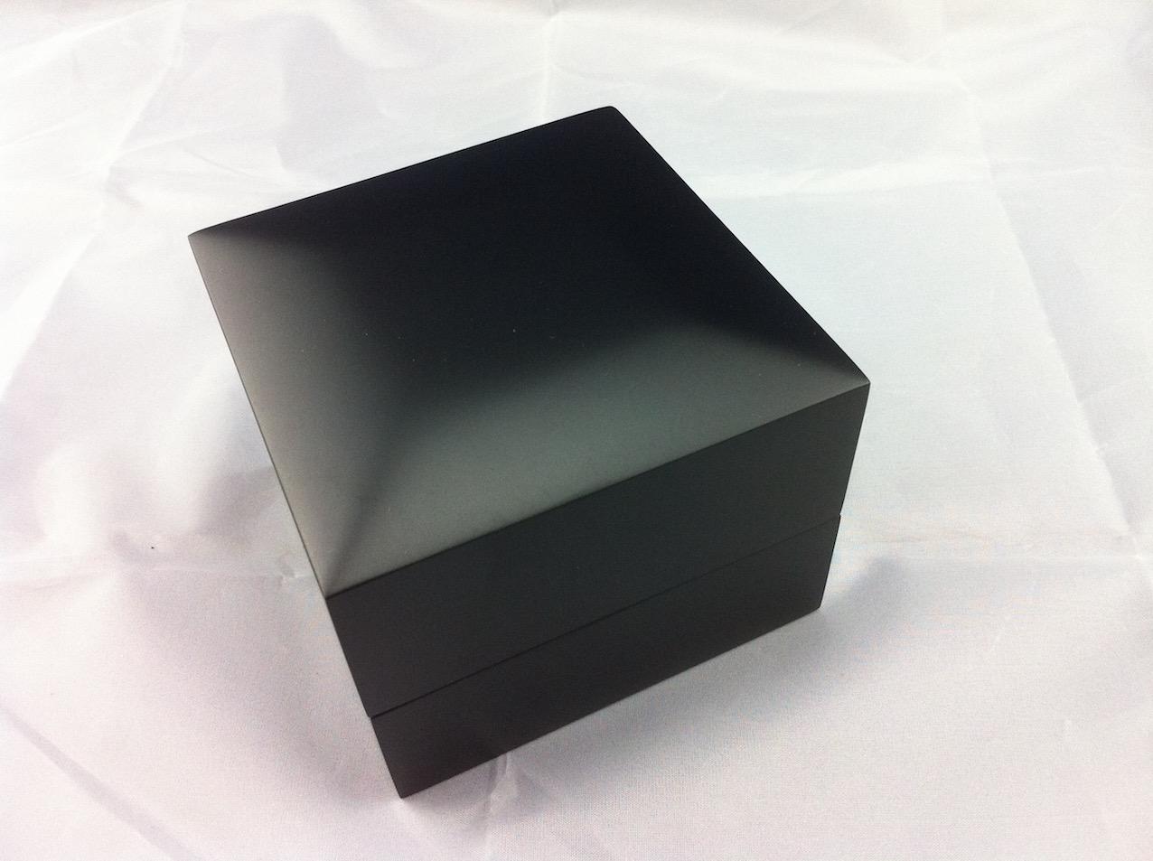EOFY Sale Premier Ring - Matte Black Suede