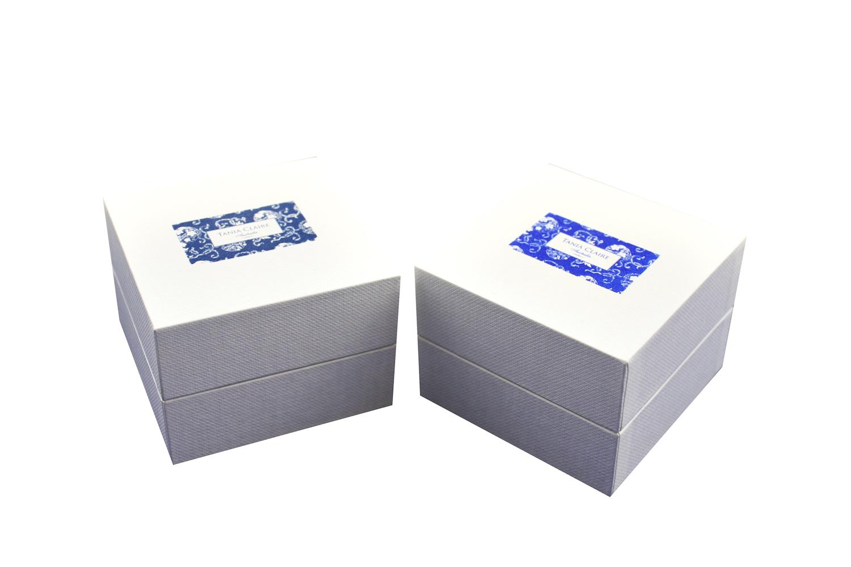 Printed White Envy Ring Boxes