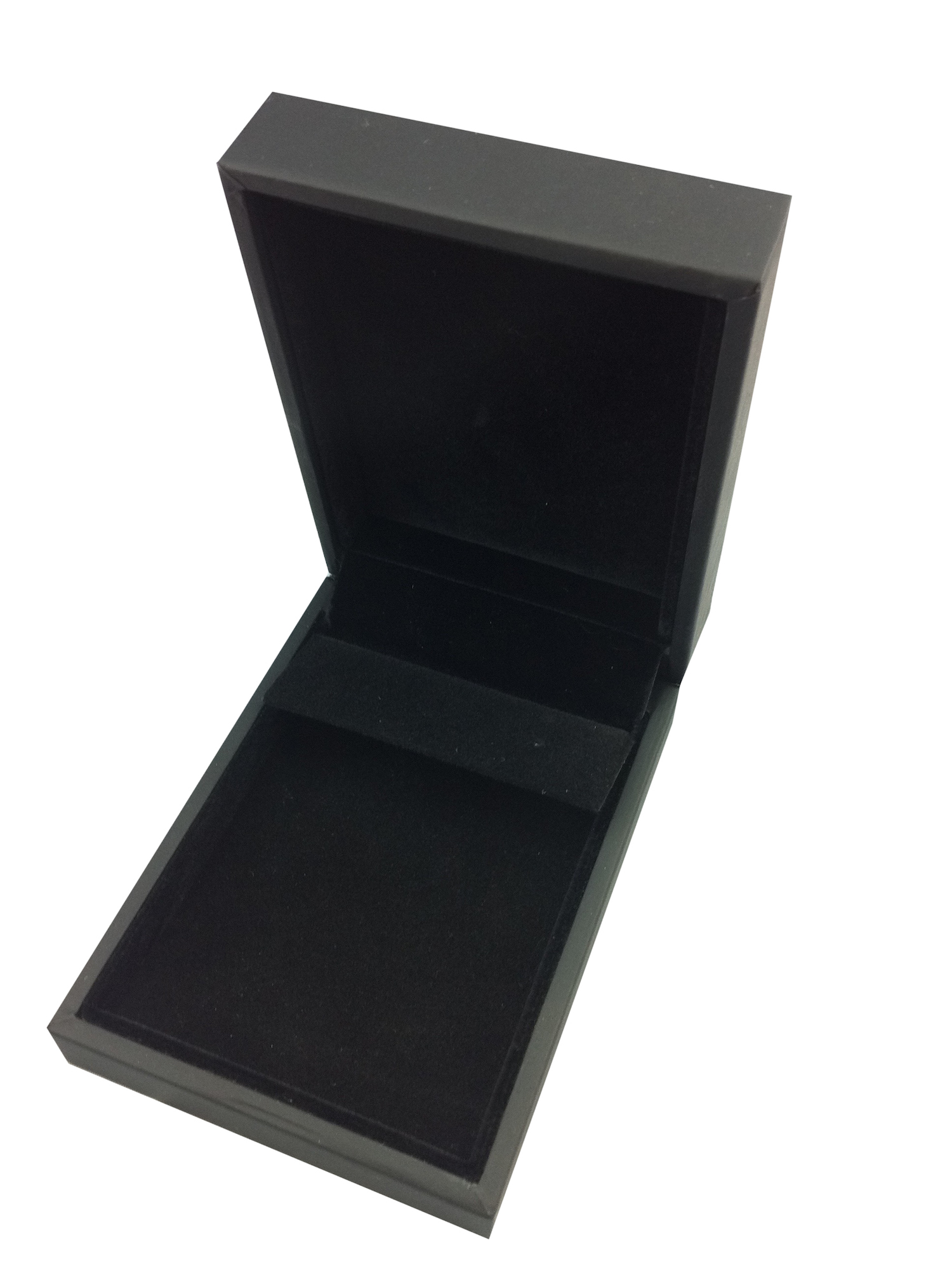 Black Suede Huggy Box