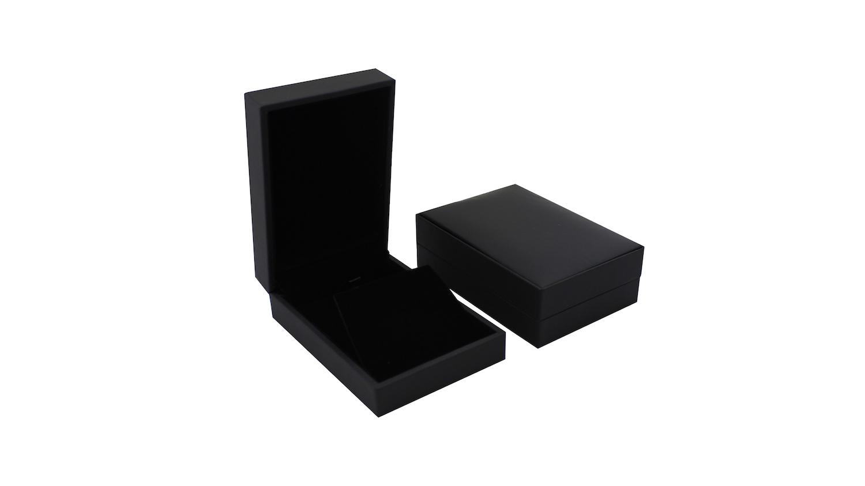 Black Suede Pendant Box (Small)