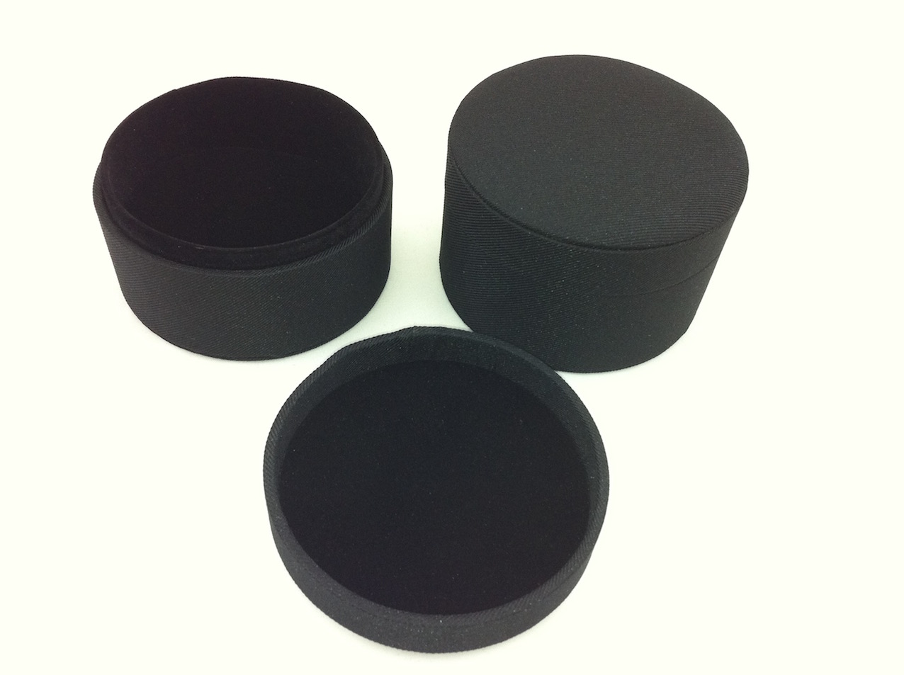 Black Jewellery Cylinder (Medium)