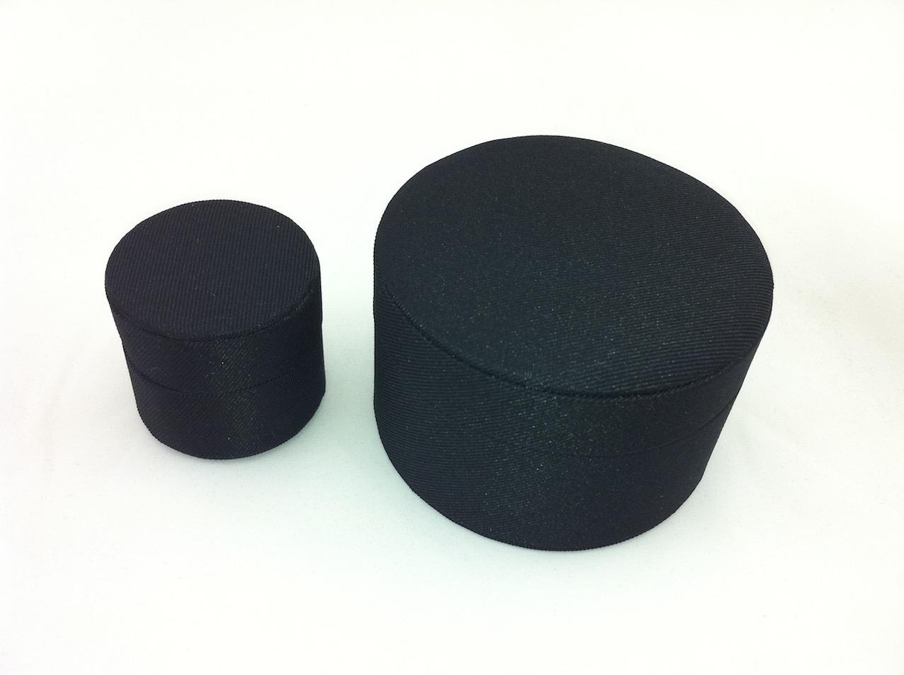 Black Cirque Ring/ Earring Box