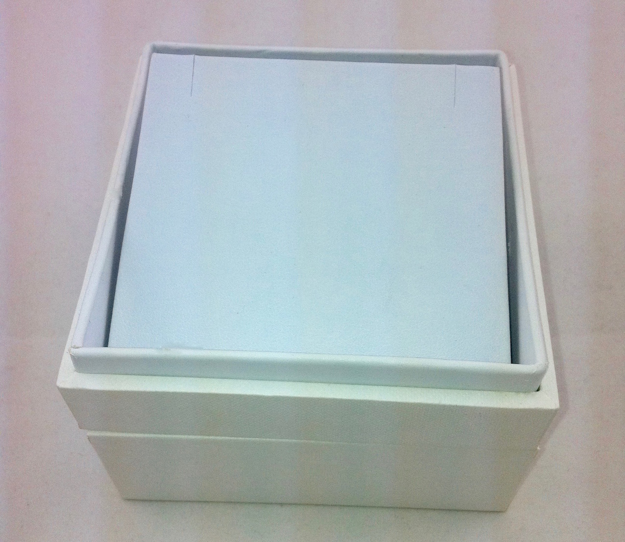 X Large white earring box