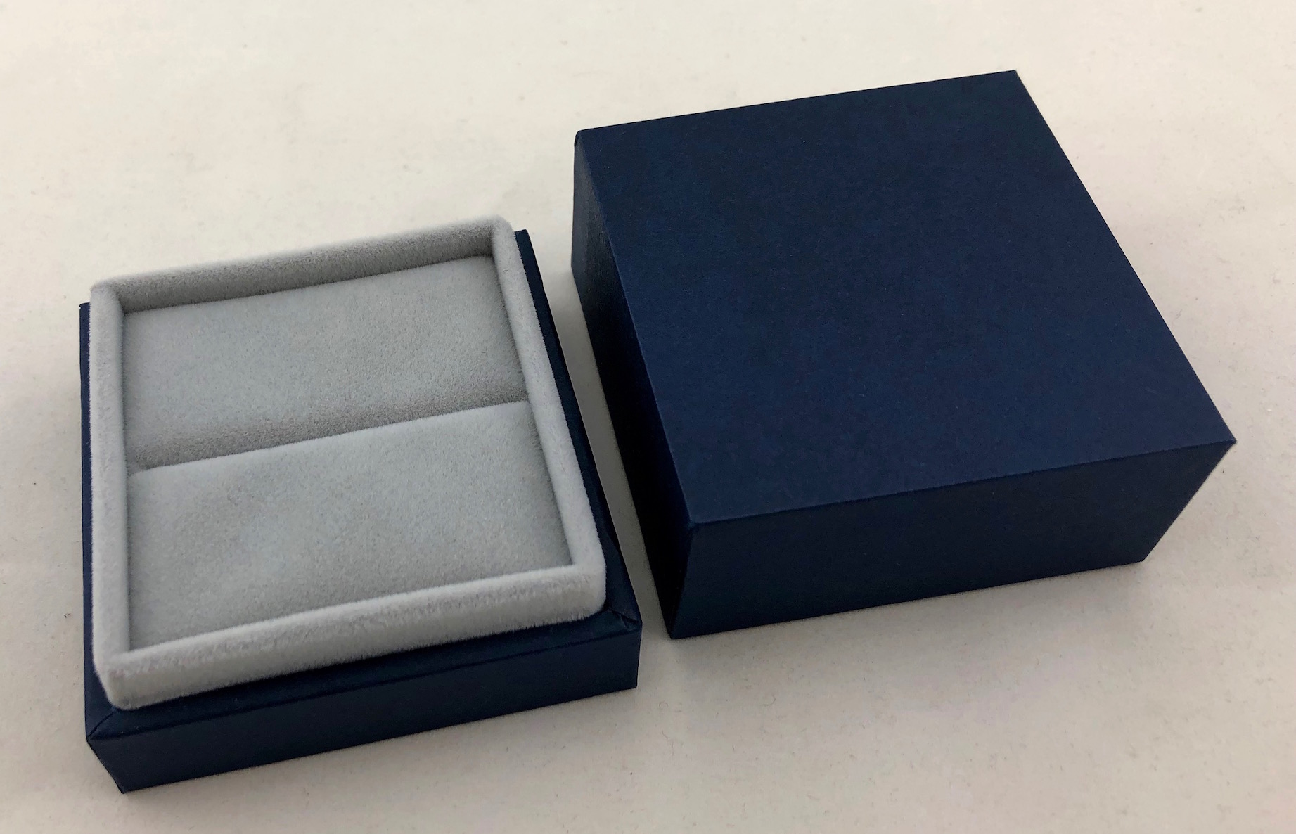 New Blue Envy Ring Box