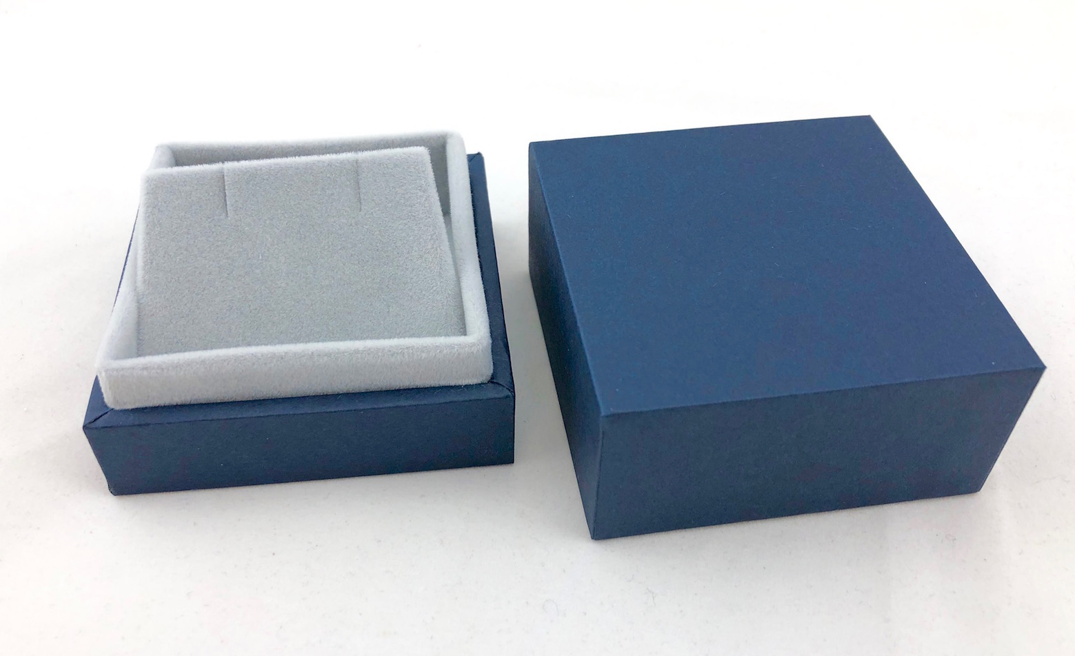 Blue Earring Box