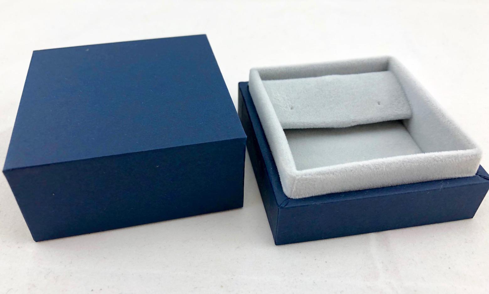 New Blue Envy Small Drop Earring Box