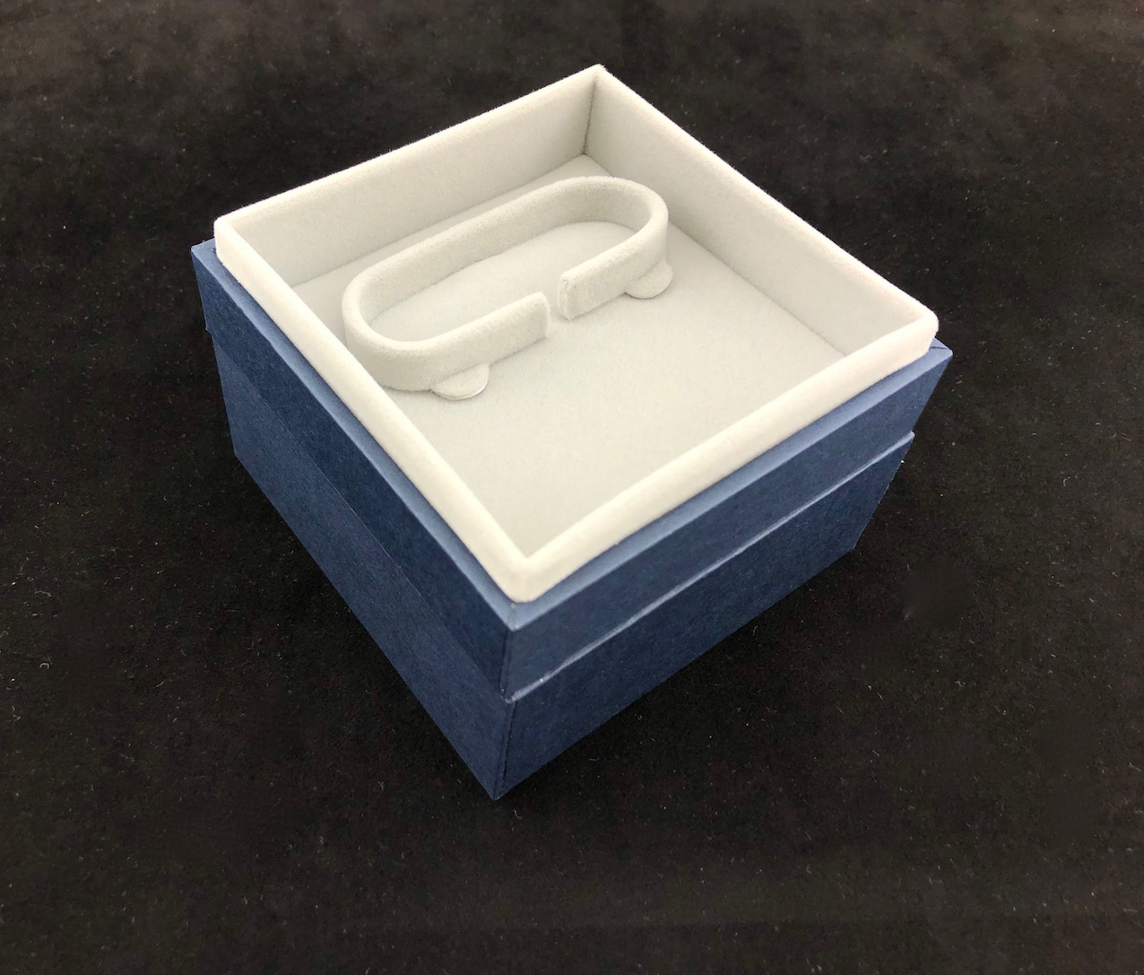 New Blue Envy Bangle Box