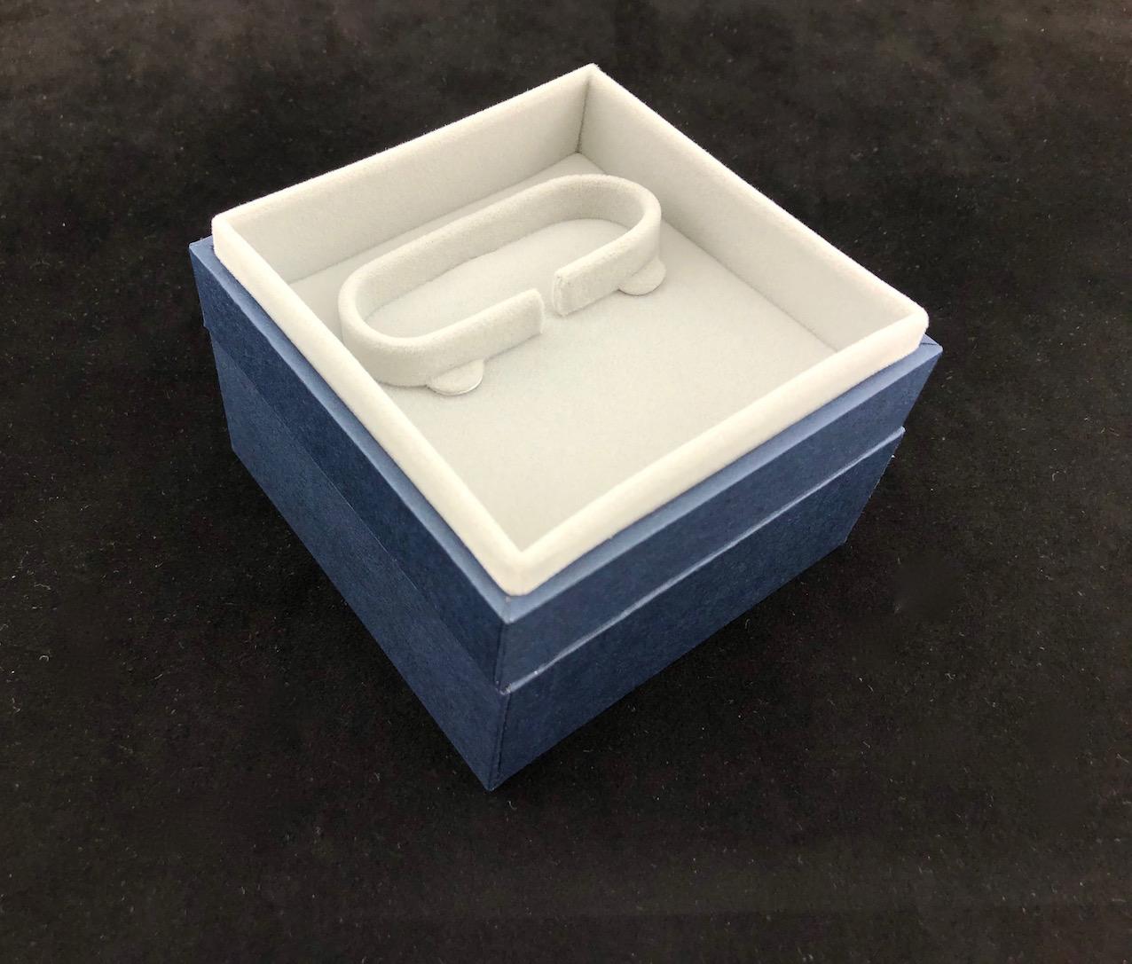 New Blue Envy Bangle Box